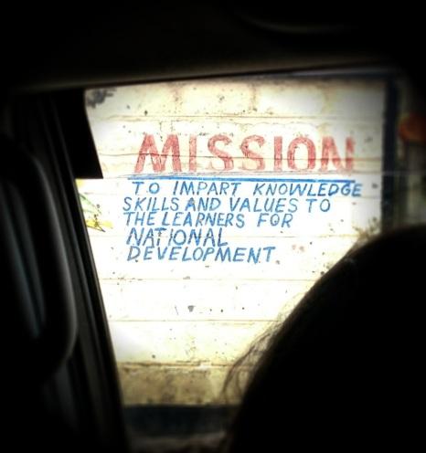 Kwa Njenga primary Mission Statement